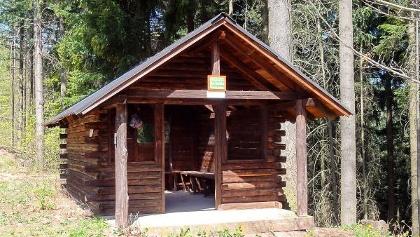 Schutzhütte am Barebäm