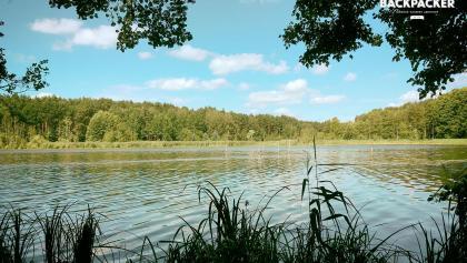 Der Bauersee in spätsommerlicher Pracht