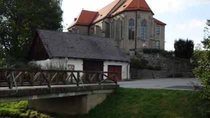 Pfarrkirche St. Oswald bei Freistadt neben P9