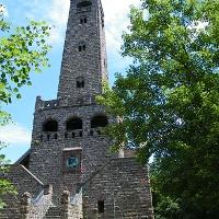 Der Bismarckturm oberhalb von Bad Dürkheim ist der höchste Bismarckturm in Rheinland-Pfalz.