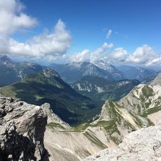 Ausblick Palfenhorn Hochkranz