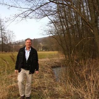 Die Tour von Ernst Wolf führt zu den Schönheiten des kleinen Flusses Bibers