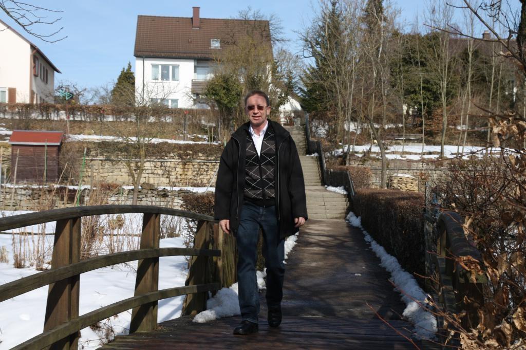 Mit Bürgermeister Klemens Izsak die Schrozberger Umgebung erwandern   - © Quelle: Hohenlohe + Schwäbisch Hall Tourismus e.V.