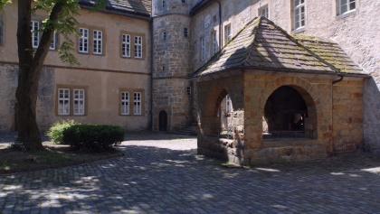 Innenhof Burg Dringenberg