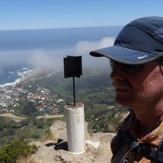 Hiking near Cape Town..