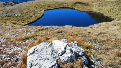 """Der """"Stallersee"""" im unteren Kar südwestlich des Stallertörls"""