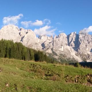 Le montagne della Val Venegia von la Cima Mulaz