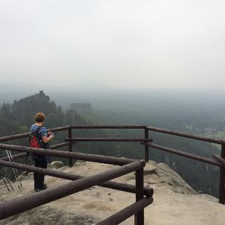Aussicht Wilhelminenwand