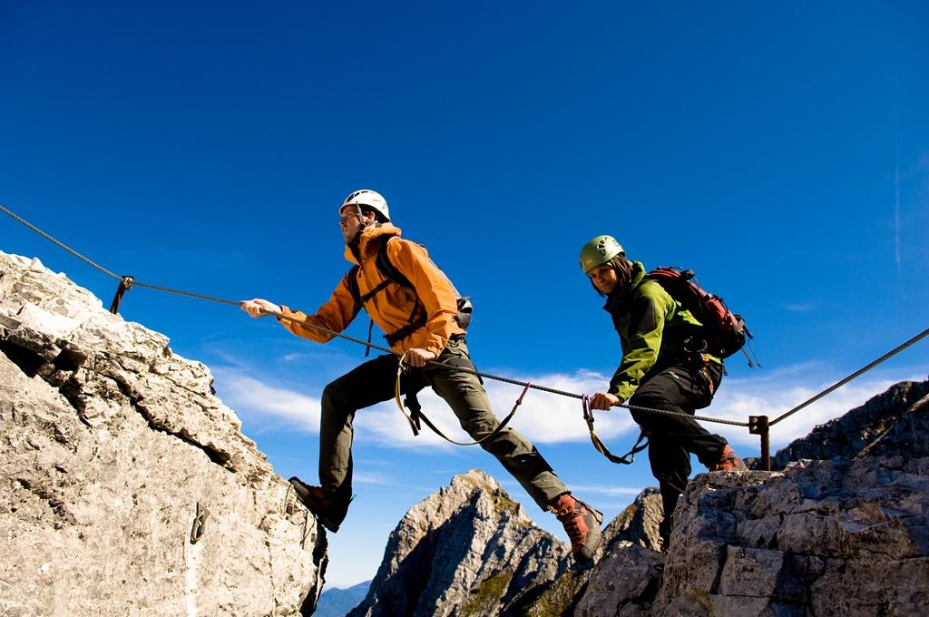 Klettersteig Villach : Bergfex via ferrata Češka koča klettersteig