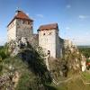 Blick auf die Burg Hohenstein