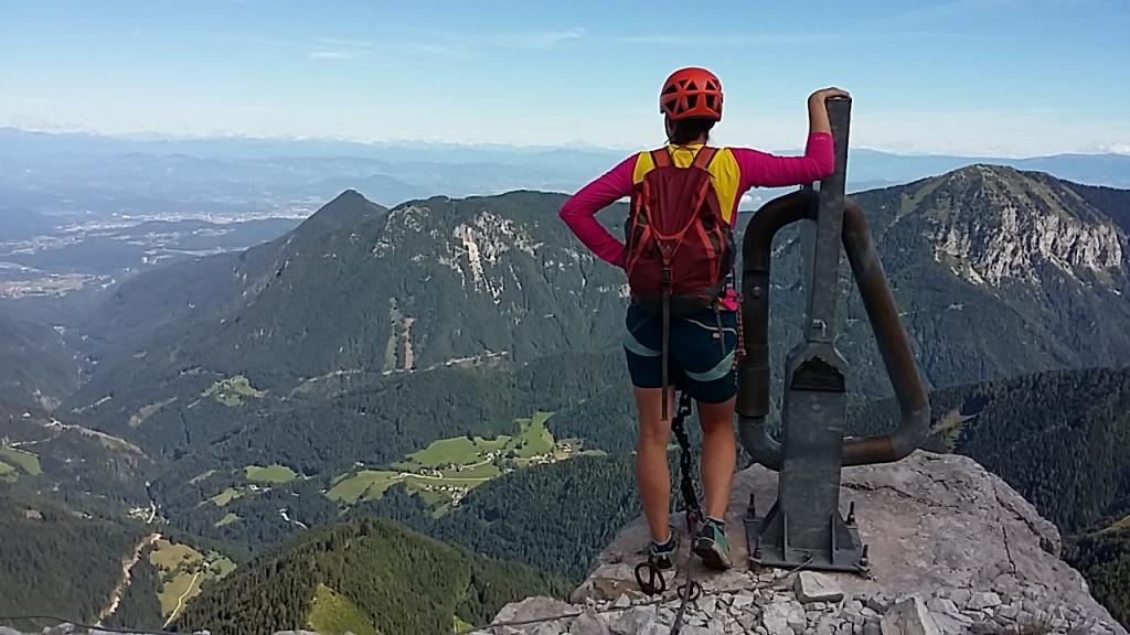 Klettersteig Kärnten : Klettersteig lärchenturm Österreichs wanderdörfer