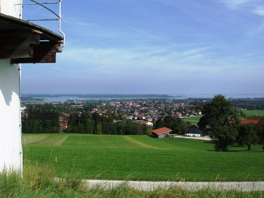 Blick auf Bernau-©Quelle: Gemeinde Bernau a. Chiemsee