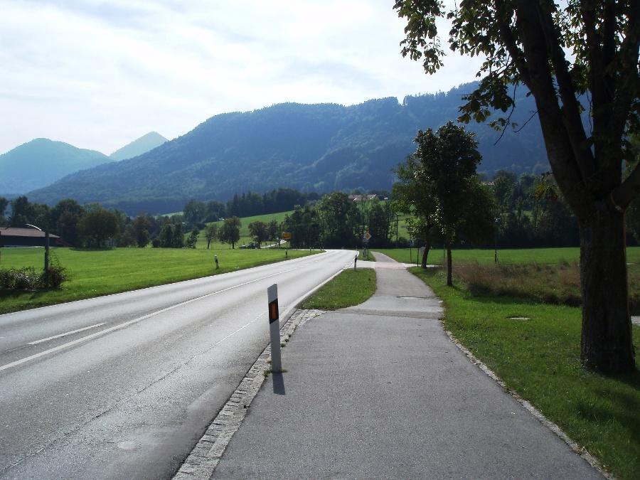 Radweg nach Grassau-©Quelle: Gemeinde Bernau a. Chiemsee