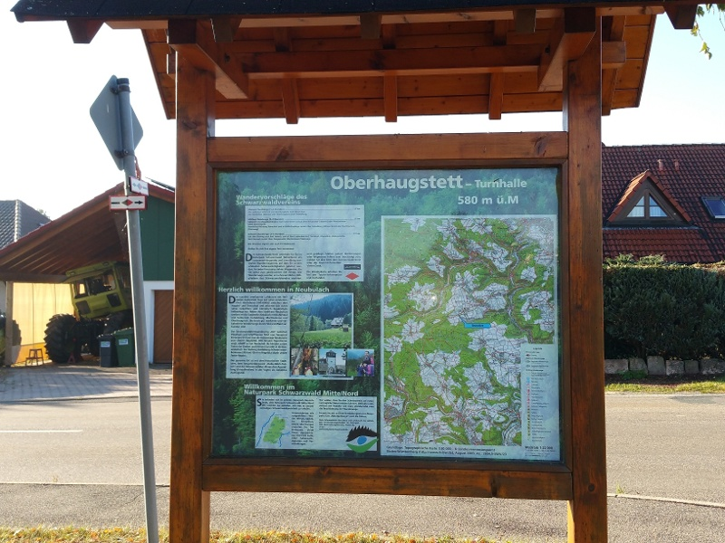 Ostweg Etappe 3: Oberhaugstett - Pfalzgrafenweiler