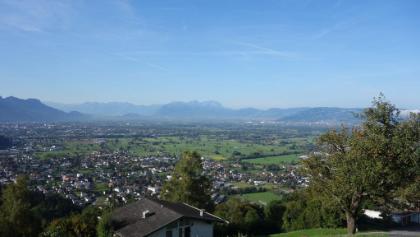 Blick ins Rheintal von Bildstein