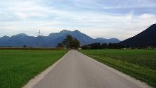 Von Bernau nach Rottau Inline Skating