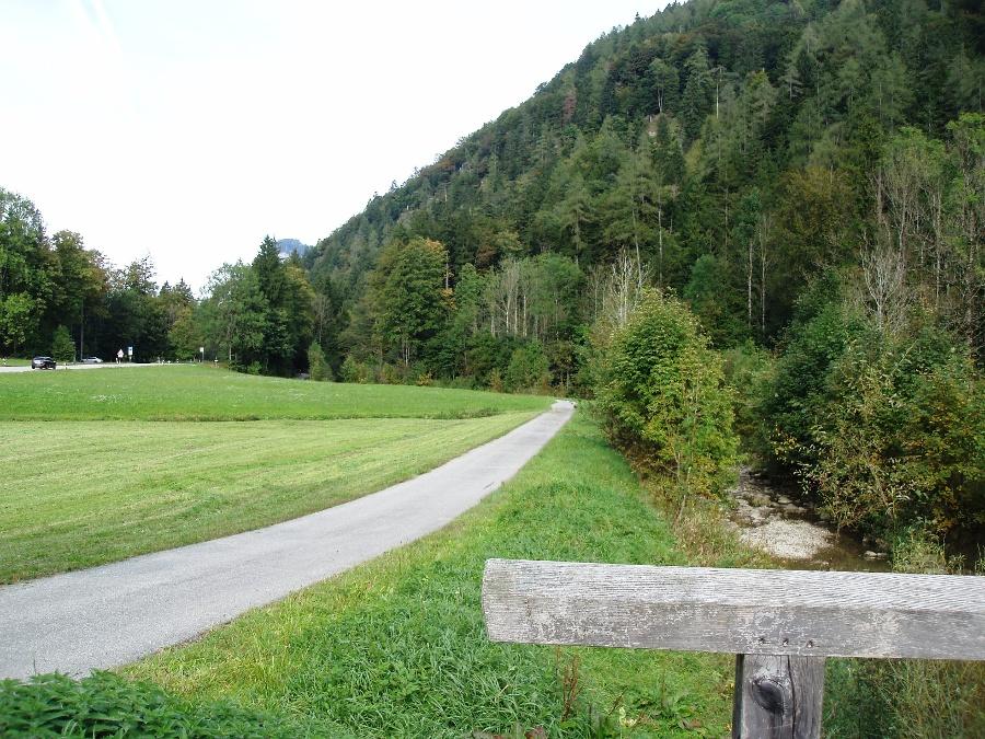 Von Sachrang Richtung Hohenaschau-©Quelle: Gemeinde Bernau a. Chiemsee
