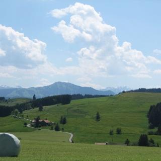 Bergsicht bei Ettensberg