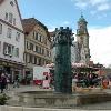 Marktplatz Hechingen