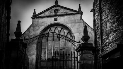 Das Tor zu Greyfriars Kirk