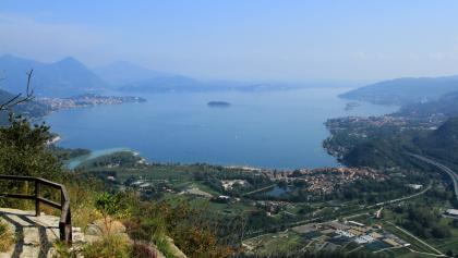 Lago Maggiore und die Mündung des Toce