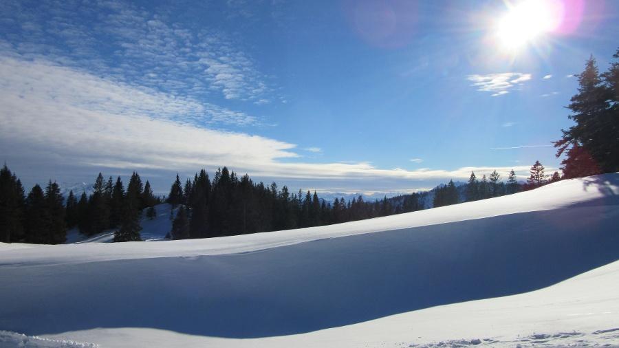 Schneeschuhwandern im Kampenwandgebiet-©Quelle: Gemeinde Bernau a. Chiemsee
