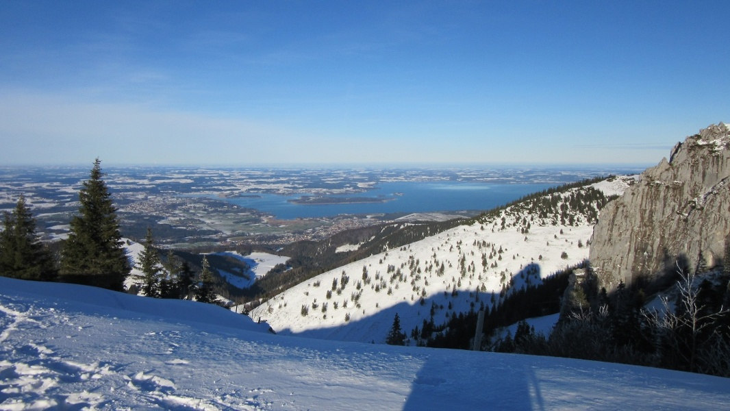 Panoramaweg Kampenwand Winterwanderung