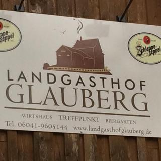 Landgasthof am Bahnhof Glauberg mit Biergarten