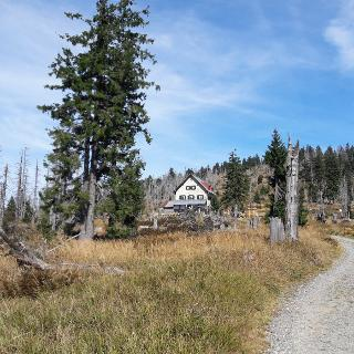 Waldschmidt-Haus vor Rachel