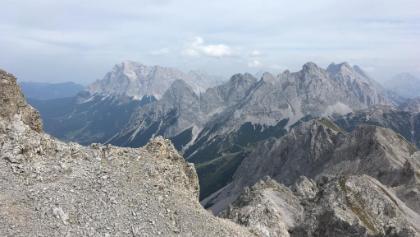 Blick vom Wannig zur Zugspitze