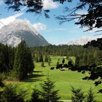 Golfplatz am Wegrand
