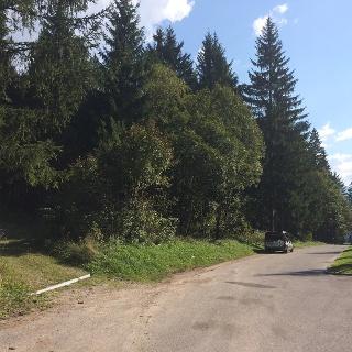 Parkplatz direkt auf der Passhöhe beim Gailbergsattel
