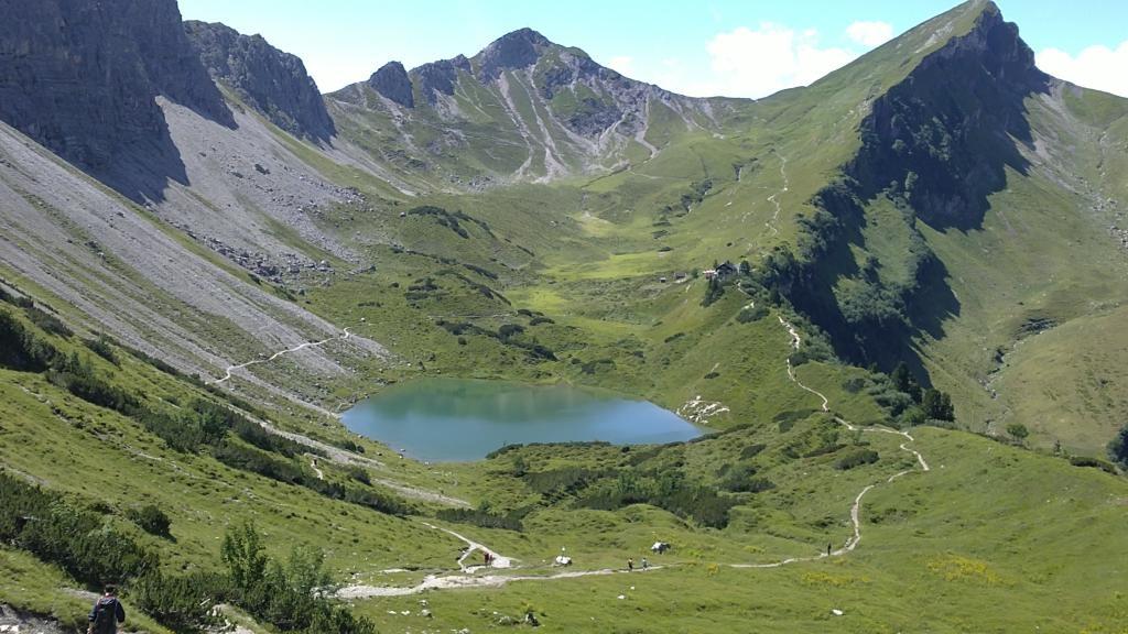 Die Lache unterhalb der Lachenspitze  - @ Autor: TVB Tannheimer Tal  - © Quelle: Tourismusverband Tannheimer Tal