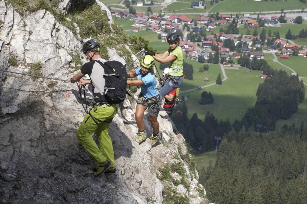 Weit über Oberjoch  - @ Autor: TVB Tannheimer Tal  - © Quelle: Tourismusverband Tannheimer Tal