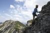 Den Salewa-Klettersteig in Oberjoch fast geschafft  - @ Autor: TVB Tannheimer Tal  - © Quelle: Tourismusverband Tannheimer Tal
