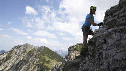 Klettersteig Oberjoch : The top via ferrata routes in bad hindelang