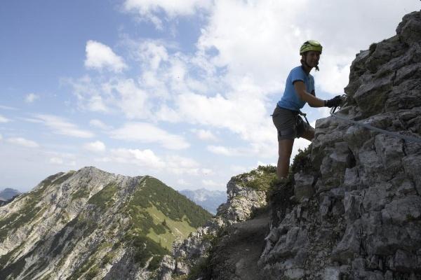Klettersteig Oberjoch : Rauf gehts salewa klettersteig