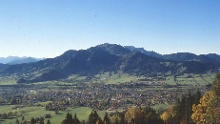 """AOK-Nordic Walking Parcours Lenggries """"Fitness Route 4 - Denkalm"""""""