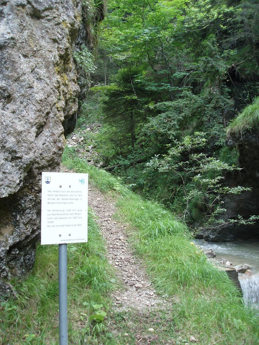 """Bergwanderung """"Wolfsschlucht""""-©Quelle: Gemeinde Bernau a. Chiemsee"""