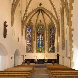 Innenraum St. Jodokus Kirche