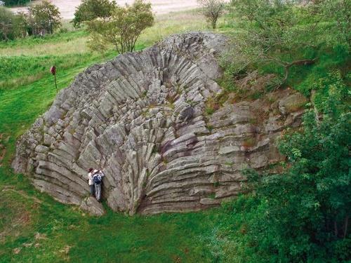 Basaltfächer am Hirtstein
