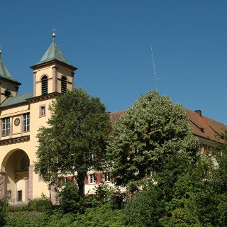 Kloster in Klösterle