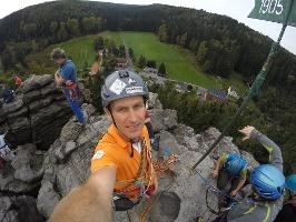 Foto Gipfelselfie auf dem Daxenstein