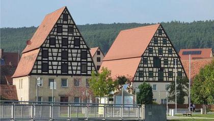 Fachwerkhäuser in Spalt