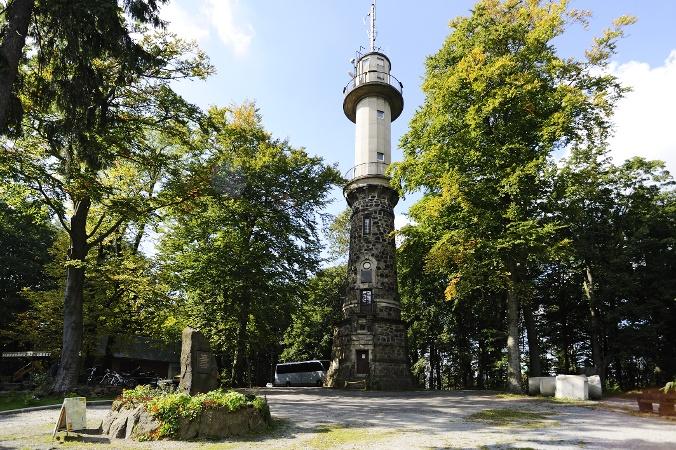 Foto Der Unger-Turm.