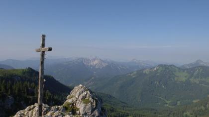 Am Gipfel des Taubensteins.