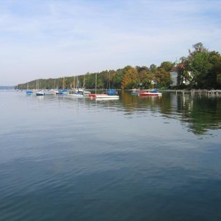 Uferblick Starnberger See
