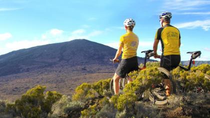MTB Tour entlang des Vulkans Piton de la Fournaise - La Réunion