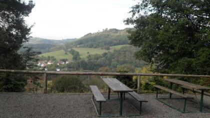 Blick von der Buchwaldhütte aus