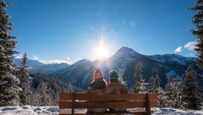 Aussicht vom 4-Jahreszeiten-Wanderweg Richtung Preuneggtal